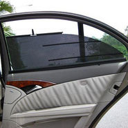 Set of 4Pcs Car Automatic Side Window Sun Shade For Pulse