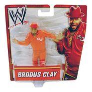 Mattel WWE Low Figure Brodus Clay X9720