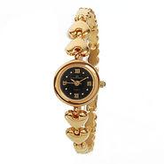 EX London Design Jewellery Wrist Watch - Black