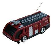 AdraxX Toy Fire Engine Playset - Red