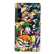 Snooky Digital Print Hard Back Case Cover For Sony Xperia T Lt30p Td12357