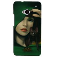 Snooky Digital Print Hard Back Case Cover For Htc One M7  Td12396