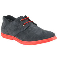 Delize Suede Leather Casual Shoes 6647-Blue