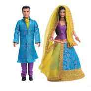 Mattel Barbie And Ken In India Gift Pack
