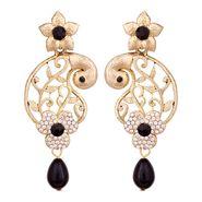 Vendee Fashion Stylish Earrings - Black