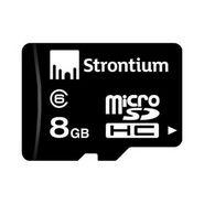 Strontium Class 6 Micro SD 8 GB Memory Card - Black