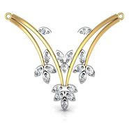Avsar Real Gold & Swarovski Stone Orissa Mangalsutra_Avm007yb