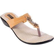 Azores Womens Beige Sandals -Azf_15Bg