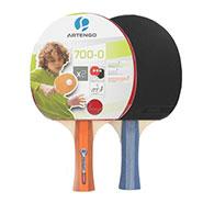 Set of 2 Artengo Table Tennis Bat