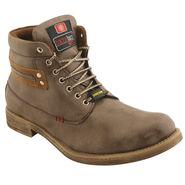 PU  Grey  Boot -ntb14
