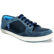 Bacca Bucci Genuine Leather Blue Casual Shoes -Bbmb3052B