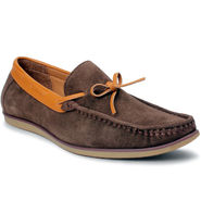 Bacca Bucci Suede Leather Brown Loafers -Bbmc4062C