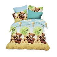 Amore Double BedSheet With 2 Pillow Cover-BDIN13
