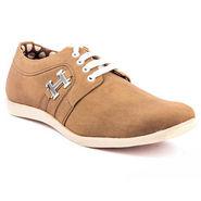 Kohinoor Footwears Canvas Casual Shoes BT098_Brown