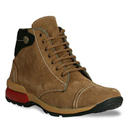 Bacca bucci  Leather  Boots - Tan-4384