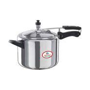 Bajaj Majesty 5 Ltr Aluminium Inner Lid Pressure Cooker - Silver