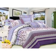 Carah Exclusive Whte Colour Double Bedsheet With Two Pillow Covers-CRH-DB159