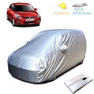 Body Cover for Maruti Suzuki old Swift - Silver