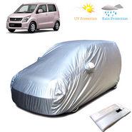 Body Cover for Maruti Suzuki old Wagon R - Silver