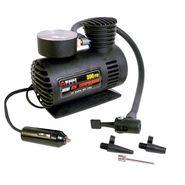 Branded 12V Car Electric Air Compressor - Black