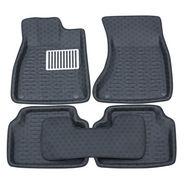 Branded 3D Car Bucket Tray Footmat For Cruze - Black