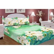 Carah Exclusive Mosquito Repellent Double Bedsheet With 2 Pillow Covers -CRH-DB390