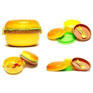 Kids School Round Burger Shape Lunchbox