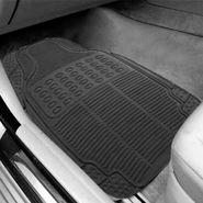 AutoStark Black Rubber Car Floor / Foot Mats