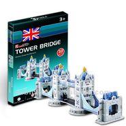Cubic Fun 32pcs 3D Puzzle TOWER BRIDGE MODEL World's Great Architecture