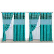 Storyathome Set of 2 Door curtain-7 feet-DCL_2-1001