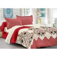 Valtellina 100% Cotton Double Bedsheet with 2 Pillow Cover-211-a