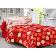 Valtellina 100% Cotton Double Bedsheet with 2 Pillow Cover-214-A