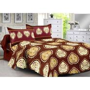 Valtellina 100% Cotton Double Bedsheet with 2 Pillow Cover-3017-B
