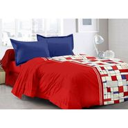 Valtellina 100% Cotton Double Bedsheet with 2 Pillow Cover-3022-B