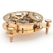Little India Brass Nautical SunDial Compass n Vernier Scale 305