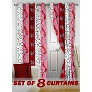 Set of 8 Printed Door curtain-7 feet-DNR_4_2005