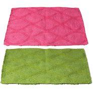 Storyathome Set of 2 Cotton Blend Doormat-DN_1411-1414-Z