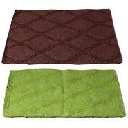Storyathome Set of 2 Cotton Blend Doormat-DN_1412-1411-Z