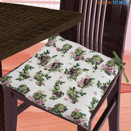 Dekor World Cotton Printed Chair Pad-DWCP-042