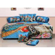 Set of 8 Dekor World Velvet Digital Printed Diwan Cover Set-DWDS-0121