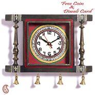 Aapno Rajasthan Colorful Tribal Print Wall Clock