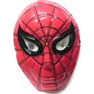 Kids Spiderman Faced Mask - 5 Pcs