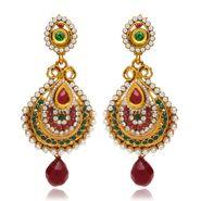 Branded Gold Plated Artificial Earrings_Er30011g