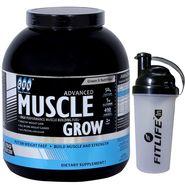 GXN Advance Muscle Grow 4 Lb (1.81kg) Vanilla Flavor + Protein Shaker