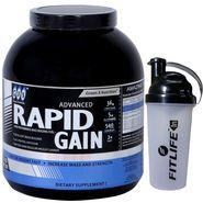GXN Advance Rapid Gain 4 Lb (1.81kg) Vanilla Flavor + Free Protein Shaker
