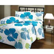 eCraftIndia Designer Printed Single Bed Reversible AC Blanket-HFBD102