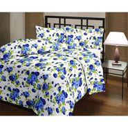 eCraftIndia Designer Printed Single Bed Reversible AC Blanket-HFBD167
