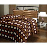 eCraftIndia Designer Printed Single Bed Reversible AC Blanket-HFBD169