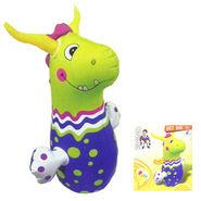 Hit-Me Rhinoceros�Face Bop Bag for Kids