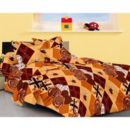 IWS Designer Cotton Printed Double Bedsheet with 2 Pillow cover- IWS-CB-31